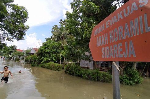 2.861 KK di Cilacap Terdampak Banjir, 4 KK Mengungsi di Koramil