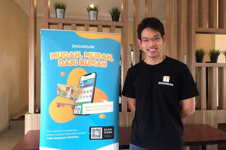 Salah satu pendiri aplikasi Dagangan, Wilson Yanaprasetya (36).