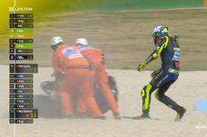 Penyebab Valentino Rossi Jatuh pada MotoGP Emilia Romagna