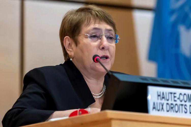 Komisaris Tinggi PBB urusan HAM, Michelle Bachelet.
