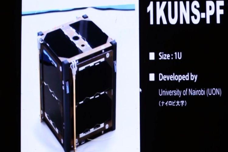 Satelit buatan Universitas Nairobi, Kenya