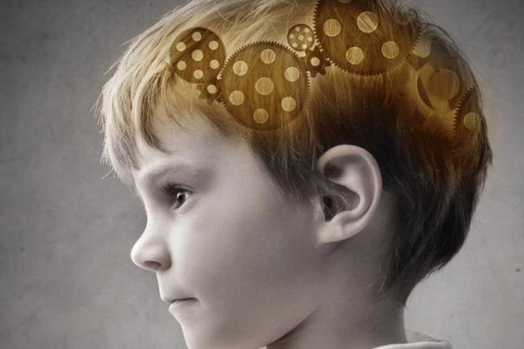 Ilustrasi otak anak
