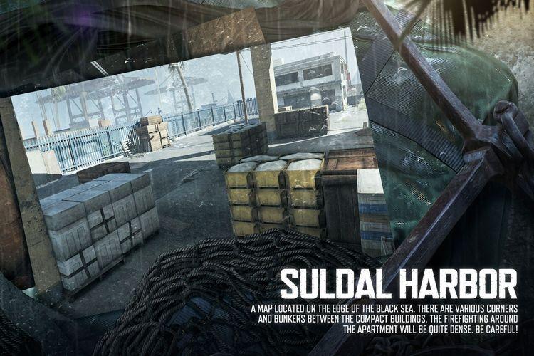 Ilustrasi map Suldal Harbor.