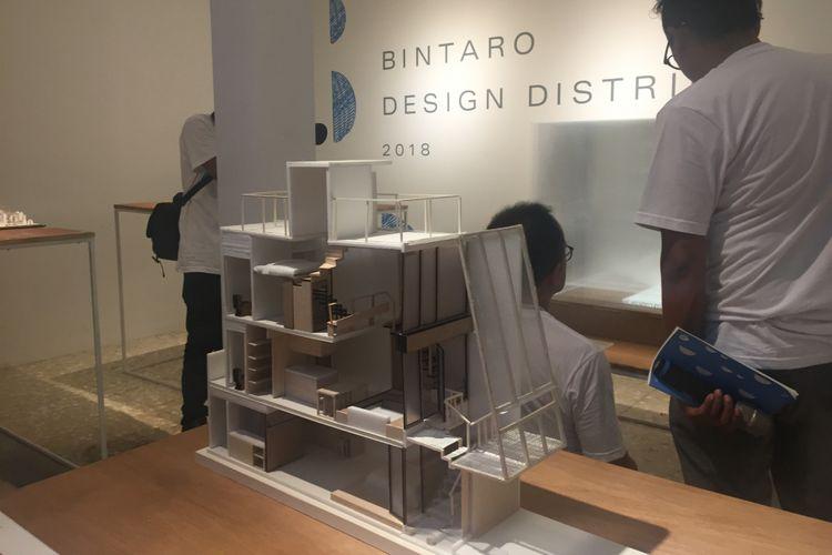 Beberapa karya yang ditampilkan pada kegiatan Bintaro Design Distrct 2018.