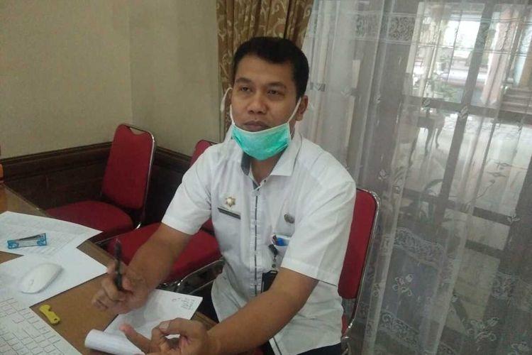 Jubir Gugas Percepatan Penanganan Covid-19 Kabupaten Magelang Nanda Cahyadi Pribadi.