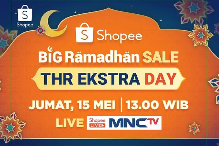 TVShopping di Shopee Live dan MNC TV pada 13.00 WIB.