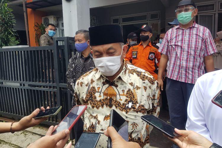 Presiden PKS Ahmad Syaikhu datangi kediaman calon wakil wali kota Tangerang Selatan nomor urut 2 Ruhamaben.