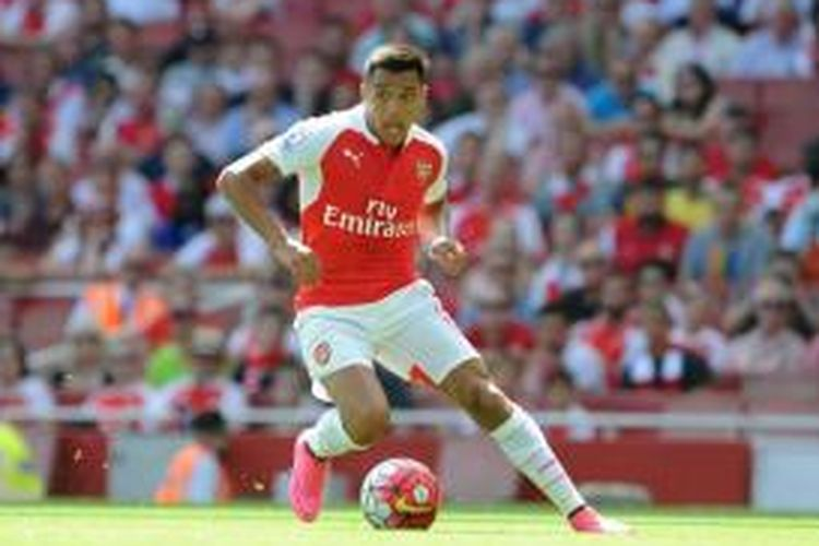 Striker Arsenal, Alexis Sanchez.