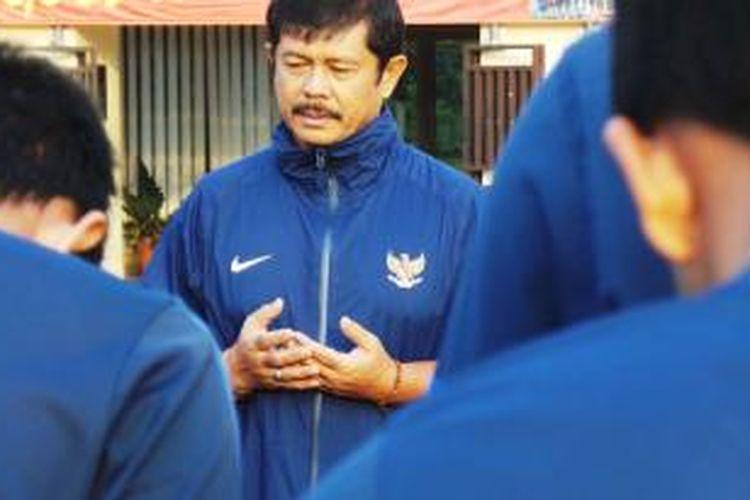 Pelatih Tim Nasional Indonesia U-19, Indra Sjafri.