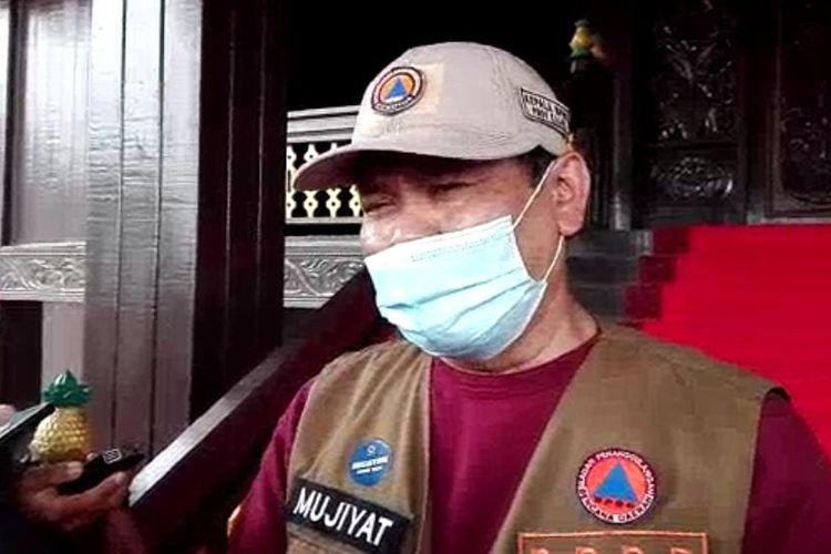 Plt Kepala BPBD Kalsel, Mujiyat memberikan keterangan terkait proses evakuasi warga yang terdampak banjir Kalsel, Rabu (20/1/2021).