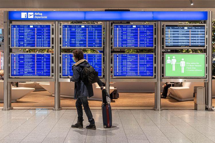 Ilustrasi bandara DOK.Pixabay/Geraldfriedrich2