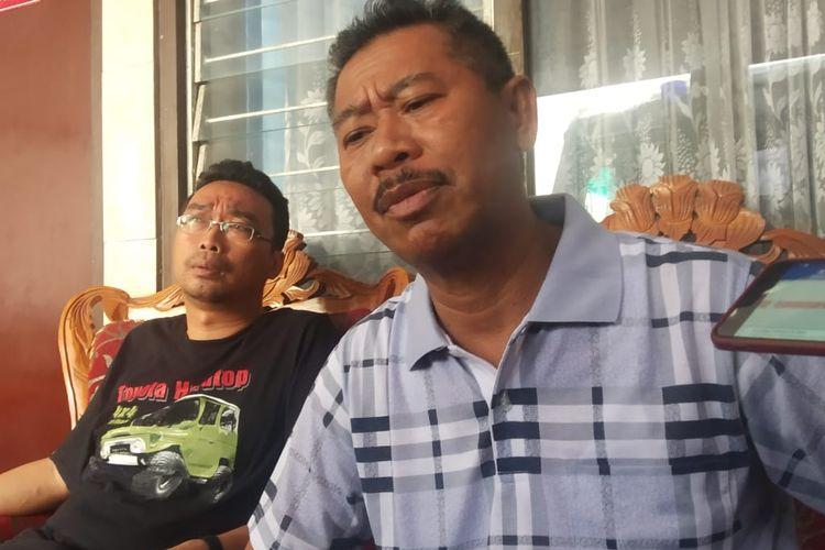 Kepala Kejaksaan Negeri Matataram Yusuf saat memberikan keterangan kepada Media soal OTT kepala Dinas Pariwisata Lombok Barat, Selasa (12/11/2019)