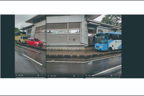 Jakarta Banjir, Viral Deretan Kendaraan Terobos dan Halangi Rute TransJakarta