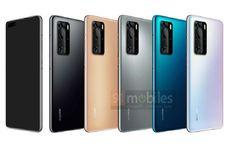Inikah Wujud Asli Huawei P40 dan P40 Pro?