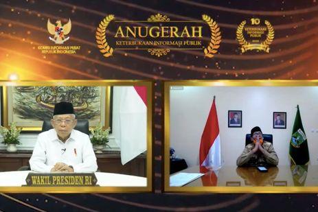 Terus Perbaiki Keterbukaan Informasi Publik, Pemprov Banten Berhasil Raih Penghargaan