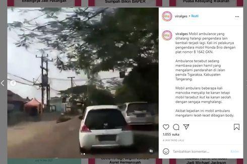 Video Brio Menghalangi Ambulans, Pahami Kendaraan Prioritas di Jalan