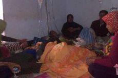 Makin Banyak, Korban Keracunan Nasi Tumpeng Dirawat di Tenda Darurat