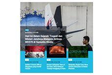 [POPULER TREN] Jatuhnya Malaysia Airlines MH370 pada 2014 | Hotel Karantina Corona di China Runtuh