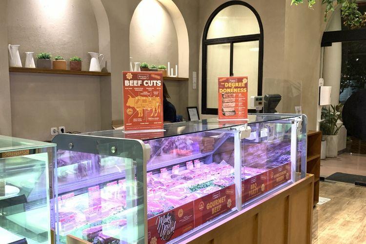 Meat shop di Steak Hotel by HOLYCOW!