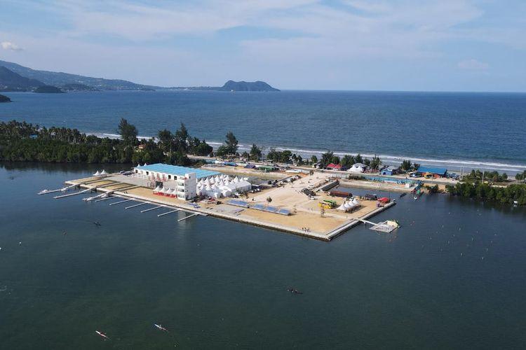 Arena dayung PON XX Papua.