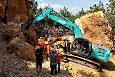 3 Pekerja Tewas Tertimbun Longsoran Tambang Batu di Grobogan