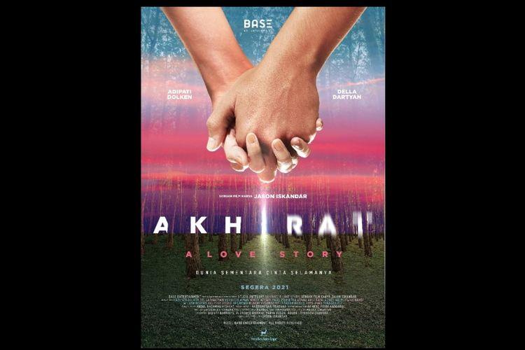 Poster film Akhirat: A Love Story .