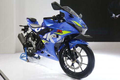 Diler Suzuki Kembali Buka, Motor Display Rajin Disemprot Disinfektan
