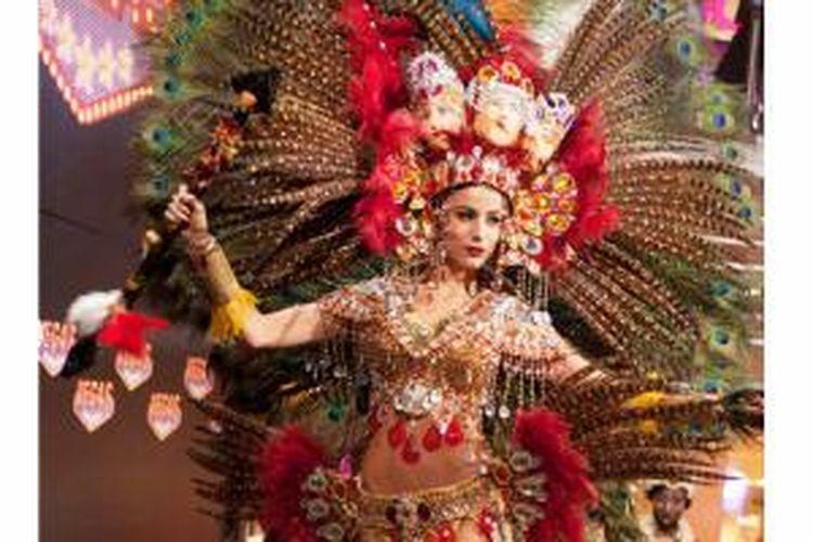 Miss Nicaragua berhasil jadi pemenang best national costume