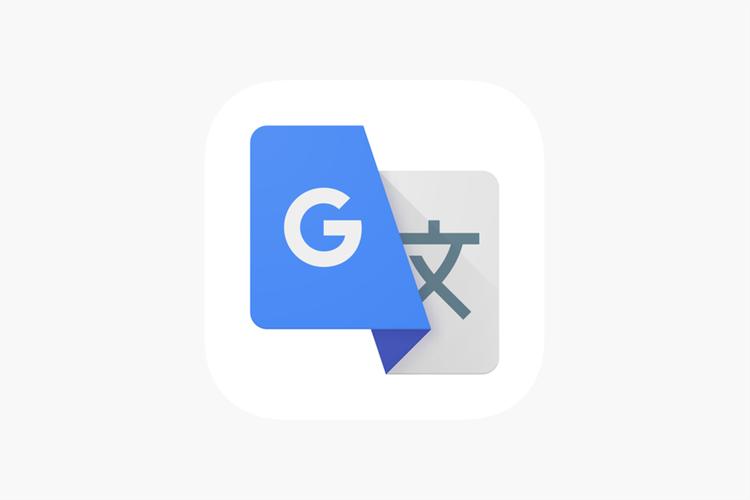 Ilustrasi logo Google Translate di Apple App Store.