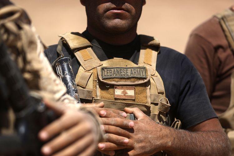Tentara Lebanon.