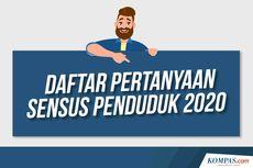 INFOGRAFIK: Daftar Pertanyaan Sensus Penduduk Online 2020