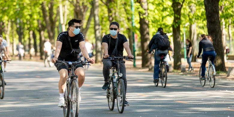 Demam Gowes, Ini Tips Aman Bersepeda di Fase New Normal