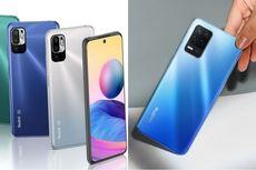 Adu Ponsel 5G Rp 3 Jutaan, Redmi Note 10 5G Vs Realme 8 5G