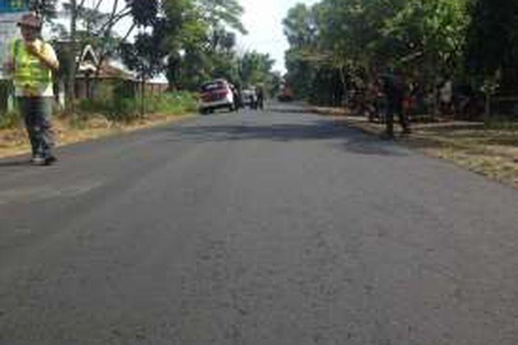 Jalan Dandles di Pantai Selatan Pulau Jawa selesai dibangun. Jalur ini disiapkan untuk arus mudik lebaran 2016.