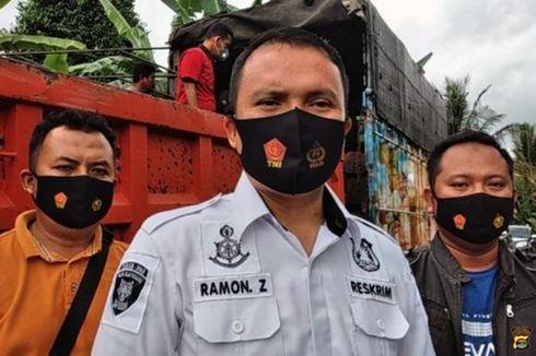 2 Truk di Lampung Diduga Bawa Hasil Pembalakan Liar Kayu Sonokeling