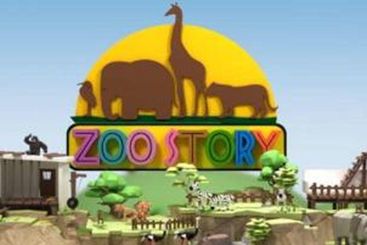 Zoo Story tayang di KompasTV setiap Minggu pukul 09.00 mulau 4 Mei 2014.