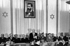 Akhir Mandat Palestina dan Berdirinya Israel