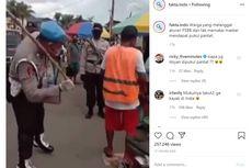Viral, Video Oknum Anggota Polisi di Maluku Pukul Pantat Warga yang Tak Gunakan Masker dengan Rotan