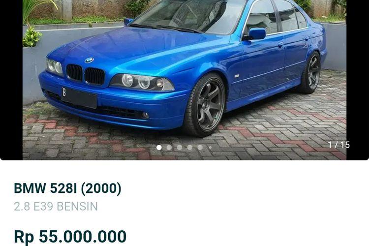 Mobil BMW harga Rp 50 jutaan