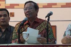 Mahfud MD Temui Pimpinan KPK