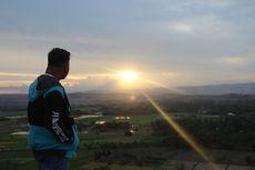 Bukit Persaudaraan di Sumba Timur, Indahnya Persawahan dan Sunset