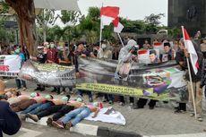 Kronologi Kerusuhan di Depan Gedung KPK, Berawal dari Pembakaran Karangan Bunga