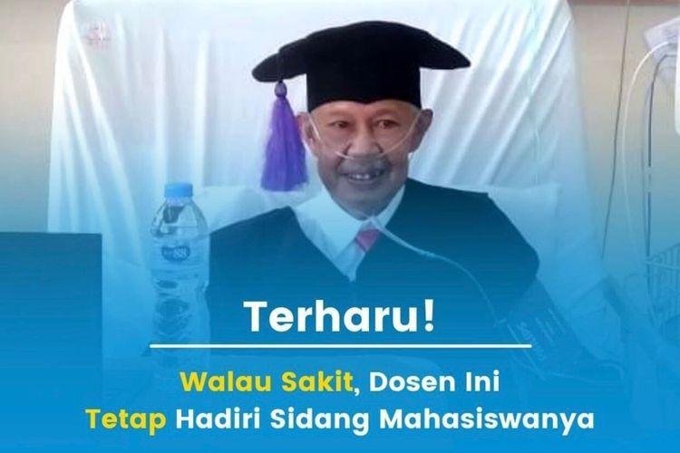 Dosen Fakultas Psikologi Universitas Padjadjaran (Unpad) Achmad Junaedi atau Kang Djuned yang viral di media sosial.