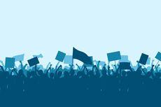 Demo Tolak Omnibus Law di Kalbar, 79 Pemuda Bawa Batu hingga Senjata Tajam