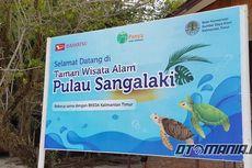 Daihatsu Peduli Penyu di Pulau Sangalaki