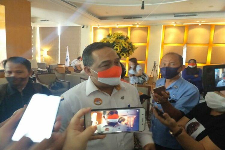 Kepala BP2MI Benny Rhamdani saat diwawancara wartawan, Rabu (7/10/2020)