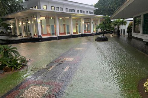 Kompleks Istana Kepresidenan Sempat Kebanjiran