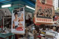 Upper Lascar Row di Hong Kong Disebut Cat Street, Mengapa?
