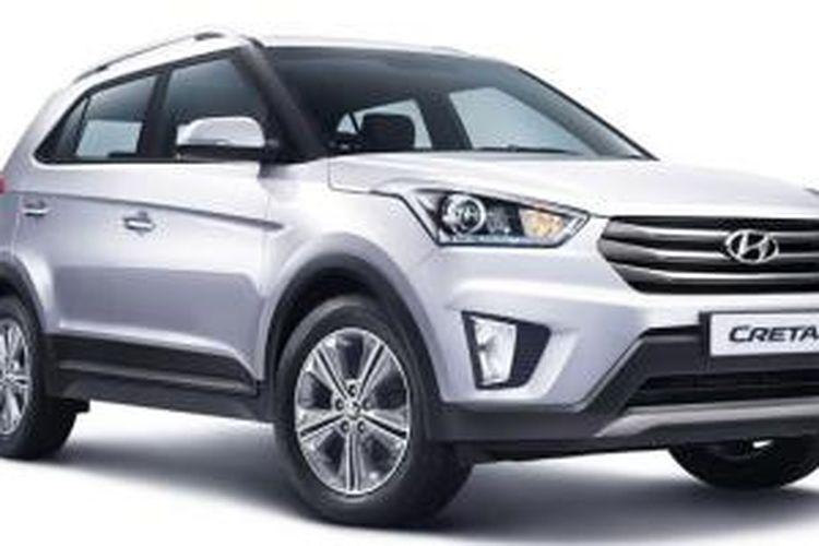 Hyundai Creta lahir di India.