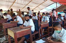Siswa Ikuti Ujian Online di Bukit, Pemkab Manggarai Timur Janji Beri Bantuan Laptop dan Internet